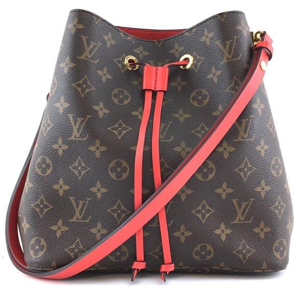 Bucket Neo Noe Neonoe Tote Leather Shoulder Bag